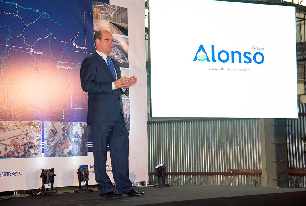 Jorge Alonso presenta el Proyecto Logístico Global del Grupo Alonso.