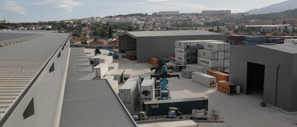 Vista de las instalaciones de SAM Algeciras