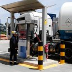 Estación de servicio de Gas Natural Vehicular de SAM Algeciras.