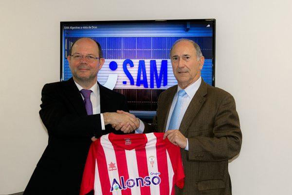 Grupo Alonso patrocinador oficial del Algeciras C. F.