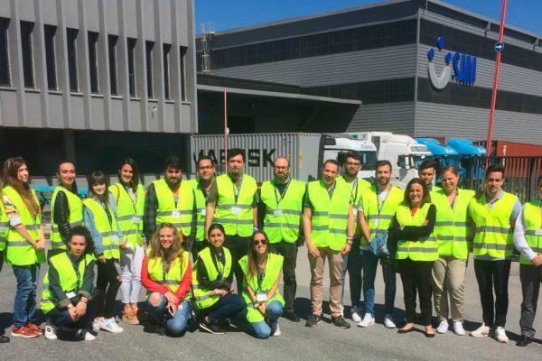 Visita de los alumnos del IES Isla Verde de Algeciras a SAM Algeciras.