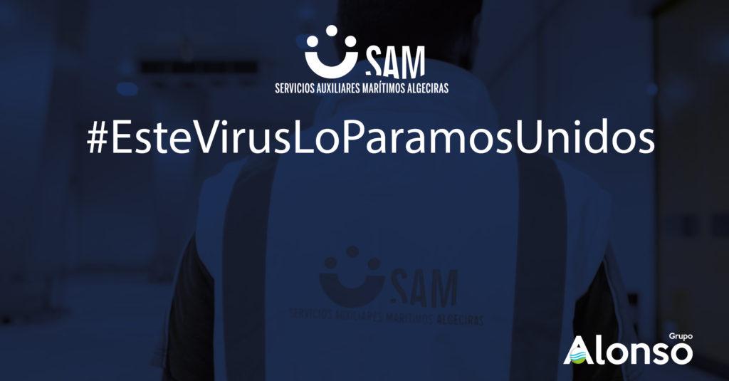 SAM Algeciras continúa desarrollando su actividad para la industria esencial.